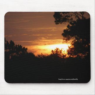Sunset Over the Farm mousepad