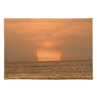 Sunset over the Florida Keys Placemats
