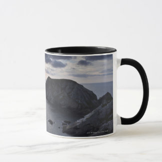 Sunset Over The Irish Coastline Mug