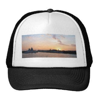Sunset Over   the Lagoon, Venice Trucker Hats
