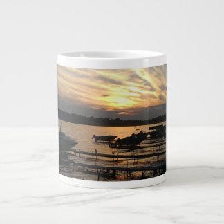 Sunset over the lake - Mug