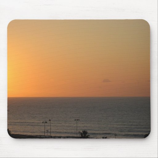 Sunset over the Mediterranean mousepad