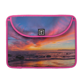 Sunset over the Pacific from Coronado 2 Sleeve For MacBook Pro