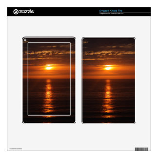 Sunset Over the Pacific Kindle Fire Skins