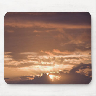 Sunset Over the Pacific Mouse Pad