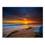 Sunset over the Pacific Ocean Postcard