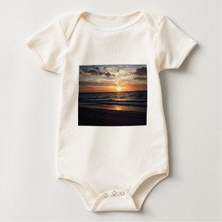 Sunset Over the Pristine beach in Jurien bay Baby Bodysuit