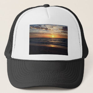 Sunset Over the Pristine beach in Jurien bay Trucker Hat