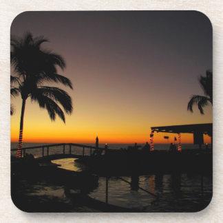 Sunset Over the Resort Coaster