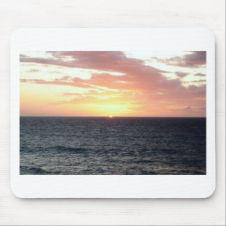 Sunset Over the Sea Mouse Pad