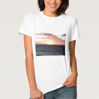 Sunset Over the Sea T Shirt