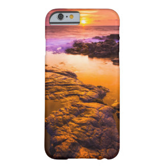 Sunset over tide pools, Hawaii Barely There iPhone 6 Case