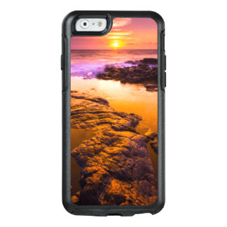 Sunset over tide pools, Hawaii OtterBox iPhone 6/6s Case