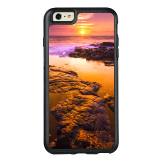 Sunset over tide pools, Hawaii OtterBox iPhone 6/6s Plus Case