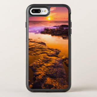 Sunset over tide pools, Hawaii OtterBox Symmetry iPhone 8 Plus/7 Plus Case