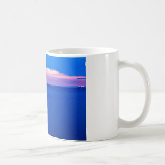 Sunset over Trieste Bay Coffee Mug