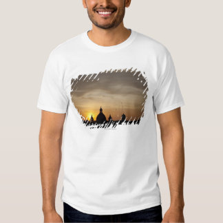 Sunset over Vatican rooftops, Rome, Italy Shirt