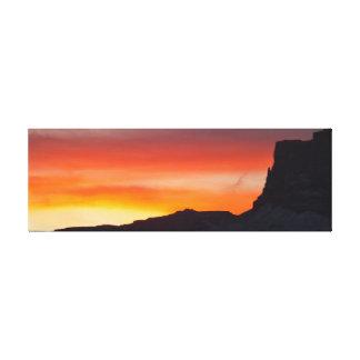 SUNSET OVER VERMILION CLIFFS CANVAS PRINT