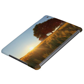 Sunset Over Wheat Field Case For iPad Air