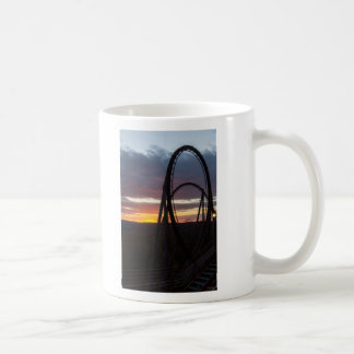 Sunset Over Wildfire Coffee Mug