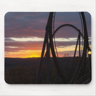 Sunset Over Wildfire Mouse Pad