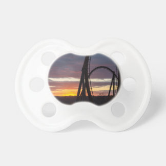 Sunset Over Wildfire Pacifier