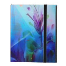 Sunset Painterly Floral iPad Powiscase iPad Cover
