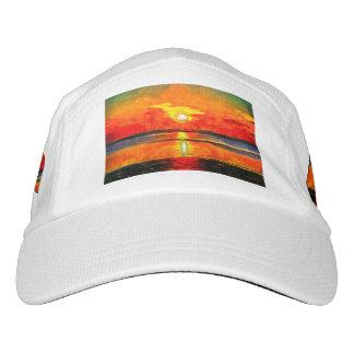 Sunset painting headsweats hat