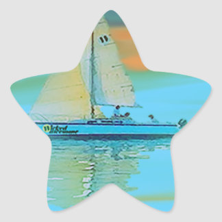 sunset painting smooth sailing 11 14.png star sticker