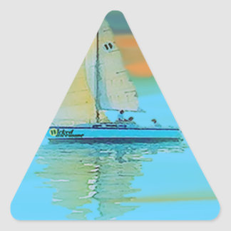 sunset painting smooth sailing 11 14.png triangle sticker