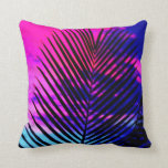 Sunset Palm Tree Pillow