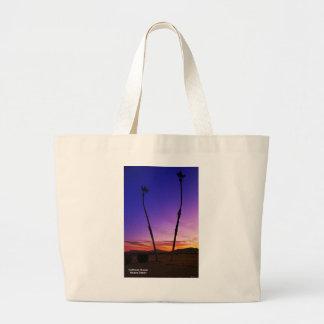 Sunset Palm Trees Bag