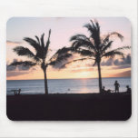 Sunset Palm Trees Mouse Pads