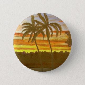 Sunset Palms Button