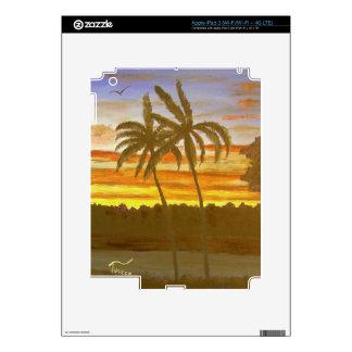 Sunset Palms iPad 3 Skin