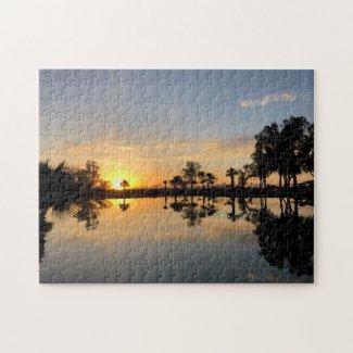 Sunset Paradise Jigsaw Puzzle