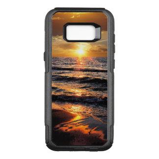 Sunset Paradise Scenic OtterBox Commuter Samsung Galaxy S8+ Case