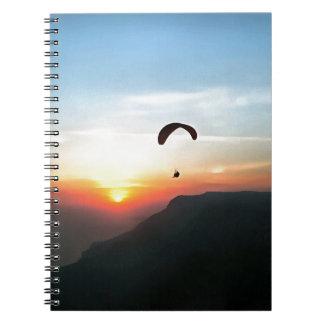 Sunset Paraglide Notebook