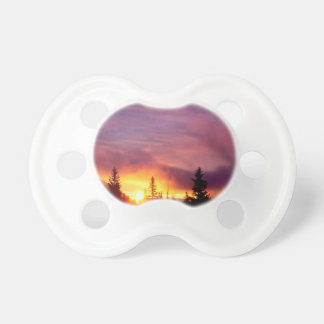 Sunset Part The Skies San Isabel Baby Pacifier