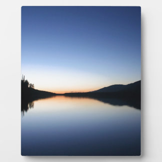 Sunset Peace And Quiet Plaque