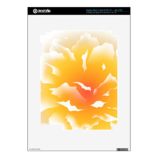 Sunset Peony iPad 3 Skin