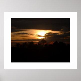Sunset Photo - 1 Poster