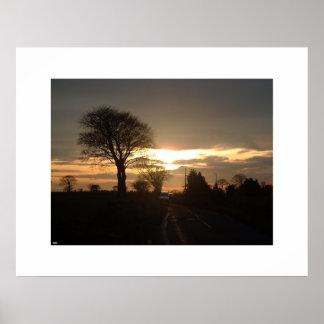 Sunset Photo - 2 Poster