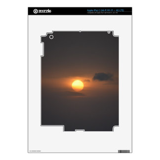 Sunset Photo for Decal For iPad 3
