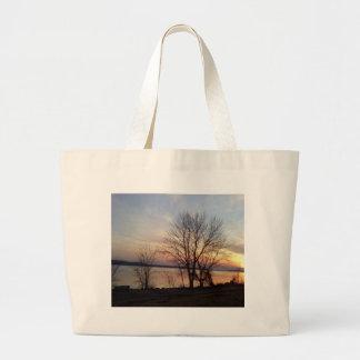 Sunset Photo.jpg Large Tote Bag