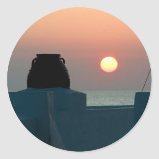 Sunset Photo Sticker
