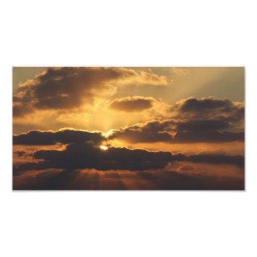 Sunset Photographic Print