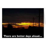 sunset picture greeting cards