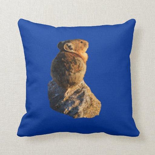 Sunset Pika Pillow