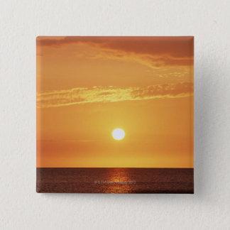 Sunset Pinback Button